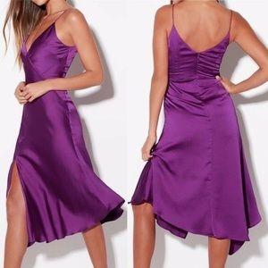 """💗🥳HP! NWOT purple """"Keepsake the Label"""" dress"""